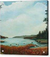 St Annes Bay Nova Scotia Acrylic Print