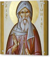 St Anthony The Great Acrylic Print by Julia Bridget Hayes