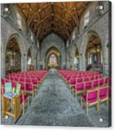 St Asaph Cathedral Acrylic Print