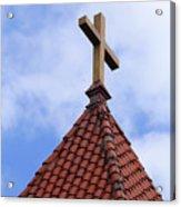 St. Augustine Cross 2 090118 Acrylic Print