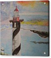 St. Augustine Fl  Lighthouse Acrylic Print