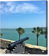 St. Augustine Historical Fort Acrylic Print