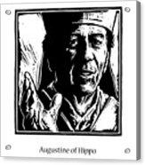 St. Augustine - Jlaug Acrylic Print