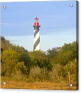 St. Augustine Light House Acrylic Print
