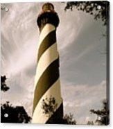 St. Augustine Light House Acrylic Print