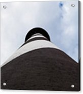St. Augustine Lighthouse - From The Bottom Up Acrylic Print