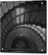 St. Augustine Lighthouse Spiral Staircase II Acrylic Print