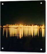 St. Augustine Lights Acrylic Print