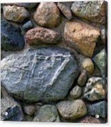 St. Augustine Stone Wall 2 090118 Acrylic Print