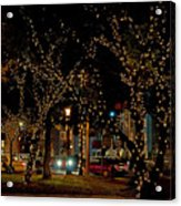 St. Augustinelights3 Acrylic Print by Kenneth Albin
