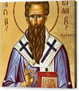 St Basil The Great Acrylic Print by Julia Bridget Hayes