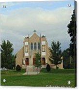 St. Basil's Church Utica, Ny Acrylic Print