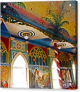 St Benedicts Painted Church 8 Acrylic Print