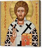 St. Boniface Of Germany - Jcbon Acrylic Print