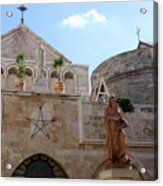 St Catherine Church Acrylic Print