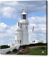 St. Catherine's Lighthouse On The Isle Of Wight Acrylic Print
