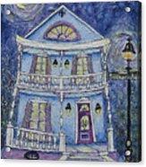 St. Charles Blue House Acrylic Print
