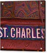 St Charles Line Acrylic Print