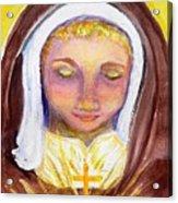 St. Clare Acrylic Print by Susan  Clark