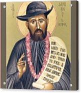 St. Damien The Leper - Rldtl Acrylic Print