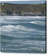 St. Davids Coastline Acrylic Print