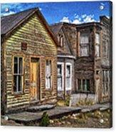 St. Elmo Ghost Town Acrylic Print