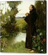 St. Francis Acrylic Print