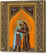 St. Francis And The Sultan - Rlsul Acrylic Print