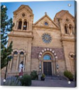 St. Francis Cathedral #2 Acrylic Print