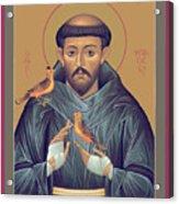 St. Francis Of Assisi - Rlfob Acrylic Print