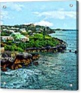 St. George Bermuda Shoreline Acrylic Print