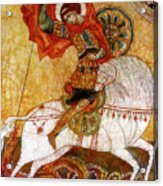 St George I Acrylic Print by Tanya Ilyakhova