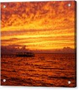 St. George Island Sunset Acrylic Print