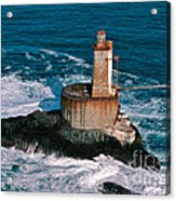 St. George Reef Light Acrylic Print