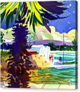 St. George's Harbour Acrylic Print