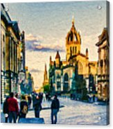 St Giles' Cathedral Acrylic Print