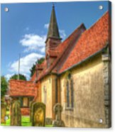 St Giles Ickenham Acrylic Print