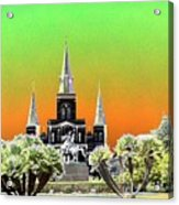 St. James Cathedral New Orleans Acrylic Print