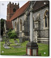 St James The Less Church Acrylic Print by Andy Smy