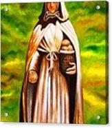 St Jeanne Jugan Of France Acrylic Print