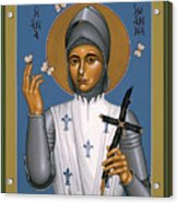St. Joan Of Arc - Rljoa Acrylic Print