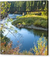 St. Joe River Acrylic Print