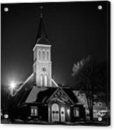 St Joes Church Mandan 4 Acrylic Print