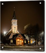 St Joes Church Mandan 6 Acrylic Print