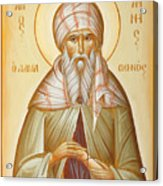 St John Of Damascus Acrylic Print