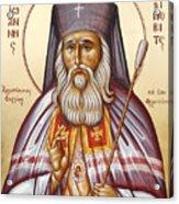 St John Of Shanghai And San Francisco I Acrylic Print by Julia Bridget Hayes