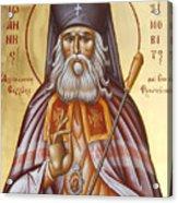 St John Of Shanghai And San Francisco Acrylic Print by Julia Bridget Hayes