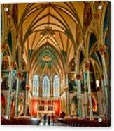 St John The Baptist Catholic Cathedral - Savannah Acrylic Print