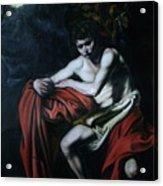 St John The Baptist Reproduction Acrylic Print