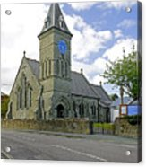 St John The Evangelist Church At Wroxall Acrylic Print by Rod Johnson